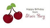 Picture of Cherries (label)